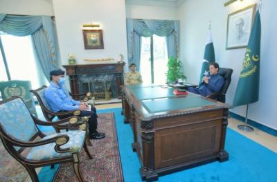 وزیراعظم عمران خان سے آئی جی اسلام آباد کی ملاقات