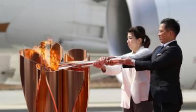 اولمپکس مشعل ٹوکیو پہنچ گئی