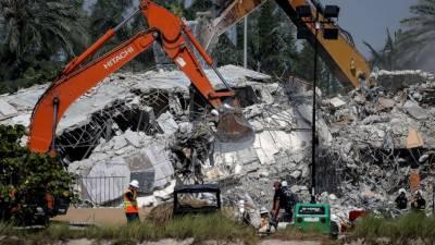 امریکا، فلوریڈا میں رہائشی عمارت گرنے سے اموات کی تعداد 78 ہوگئی،62 افرادتاحال لاپتہ