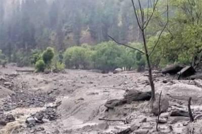 مون سون،وادی نیلم میں طوفانی بارشیں، 14 گھر تباہ، 20 کو جزوی نقصان پہنچا