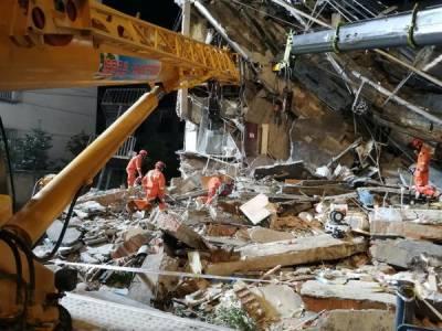 چین،عمارت منہدم ہونے سے17افراد ہلاک،5زخمی