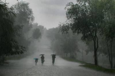 بیشتر علاقوں میں مون سون کی بارشیں شروع