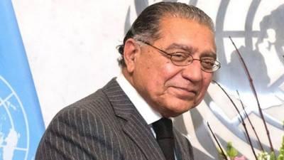 پاکستان نے اقتصادی اور سماجی کونسل کی صدارت کی مدت پوری کر لی ہے:منیر اکرم