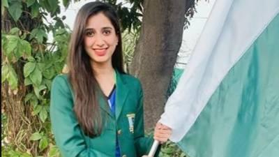 نیشنل بیڈ منٹن چیمپیئن ماہور شہزاد کو ٹوکیو 2020 کے اولمپک میں پاکستان کا پرچم بردار منتخب کر لیا گیا