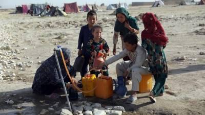 نقل مکانی کرنیوالے افغان شہریوں کیلئے امریکی امداد کی منظوری