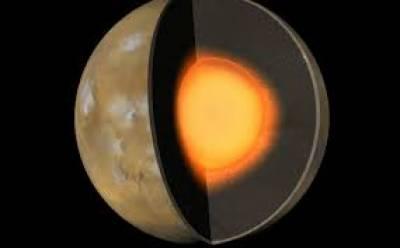 ناسا نے مریخ کے اندرونی ڈھانچے کا تعین کر لیا