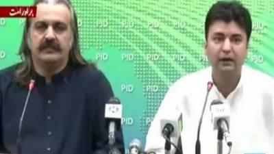 کشمیریوں نے وزیراعظم اورپی ٹی آئی امیدواروں کومثالی محبت دی۔مراد سعید
