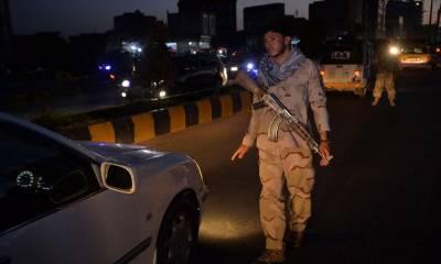 طالبان کا خوف، افغانستان میں رات کا کرفیو نافذ