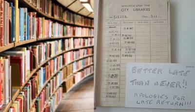 انگلینڈ :لائبریری سے لی گئی کتاب 63 سال بعد واپس کردی گئی