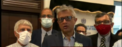 ماہرین کا خیال ہے کورونا وائرس جیسی وبائیں مستقبل میں بھی آئیں گی، ڈاکٹر فیصل سلطان