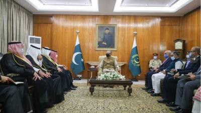صدر مملکت کا پاکستان اور سعودی عرب کے مابین تمام شعبوں میں تعلقات کی موجودہ سطح کو وسعت دینے پر زور