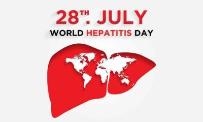 دنیا بھر میں ہیپاٹائٹس سے بچاؤ کا دن آج منایا جا رہا ہے