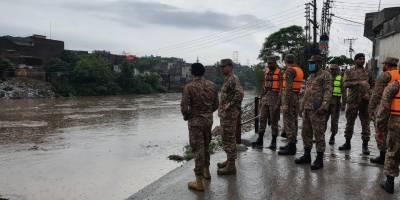 راولپنڈی : موسلا دھار بارشوں کا سلسلہ، فوج امدادی کاموں میں مصروف