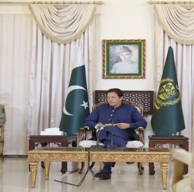 5 اگست کے اقدامات واپس لینے تک بھارت سے بات چیت ممکن نہیں: وزیراعظم