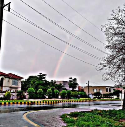 لاہور اور پنجاب کے دیگر شہروں میں بارش سے موسم خوشگوار