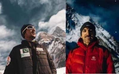 ساجد سدپارہ اپنے والد کی جسد خاکی کیمپ 4 پہنچانے میں کامیاب