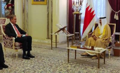 وزیر خارجہ کی بحرین کے فرماں روا حماد بن عیسیٰ الخلیفہ سے ملاقات
