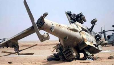 عراق میں آرمی ہیلی کاپٹر گر کر تباہ، 5 فوجی ہلاک