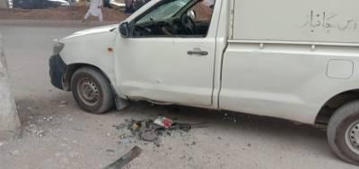 شاور، حیات آباد میں پولیس موبائل کے قریب دھماکا، پولیس اہلکار شہید