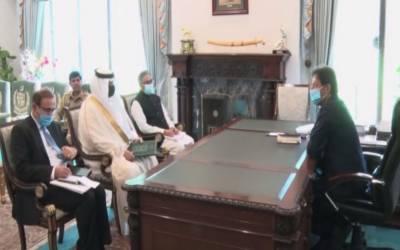سعودی سفیر کی وزیراعظم سے ملاقات