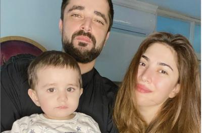 بیٹے کی پہلی سالگرہ پر نیمل خاور کا محبت بھرا پیغام