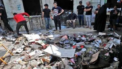 عراق میں جنازے کے اجتماع پر فائرنگ ، پولیس اہلکاروں سمیت 15 افراد جاں بحق، 50 زخمی