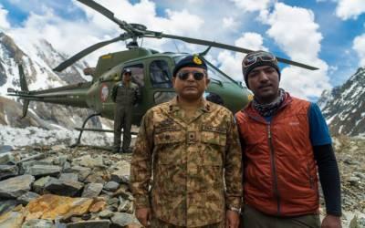 محمد علی سدپارہ کو خراجِ تحسین، پاک فوج قراقرم کی بلندیوں پر پہنچ گئی