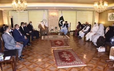 پاکستان عرب ممالک کے ساتھ دوطرفہ تعاون و تعلقات کو انتہائی اہم سمجھتا ہے:چیئرمین سینیٹ