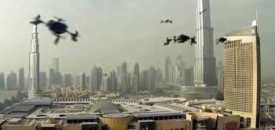 دبئی میں ڈرون کے ذریعے مصنوعی بارش برسانے کاکامیاب تجربہ جاری