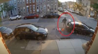 امریکا،بیوی کے ہاتھوں شوہر کو کار تلے روندنے کی باربار کوشش کی ویڈیو جاری