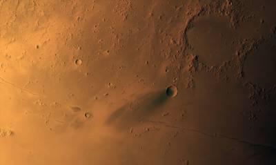 امارات کے خلائی مشن امیدِتحقیق نے مریخ کی سطح کی بالکل شفاف تصویربنالی