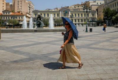 یونان کو 30 سال کی بدترین ہیٹ ویو کاسامنا، شہریوں کو گھروں میں رہنے کی ہدایت