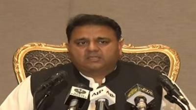 انتخابی اصلاحات کیلئے 49 تجاویز مرتب ، اپوزیشن کو ان تجاویز پر اعتراض ہے تو اپنی تجاویز پیش کرے. چوہدری فواد حسین