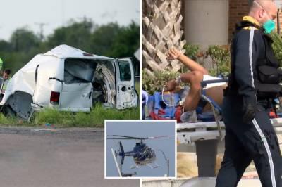 امریکا، وین کو حادثہ ، 10مسافر ہلاک ،20 زخمی