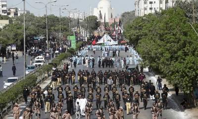 کراچی: محرم الحرام کے جلوس کیلئے پولیس کے 5 ہزارسے زائد افسران تعینات