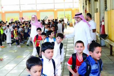 سعودی عرب میں 29اگست سے سکول کھولنے کا اعلان