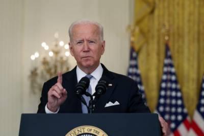 تمام امریکی باشندوں کے انخلاء تک امریکی فوجی دستے افغانستان میں موجودرہیں گے، جوبائیڈن