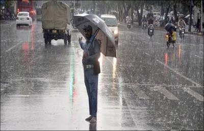 کراچی سمیت پورے سندھ میں بارشوں کا امکان