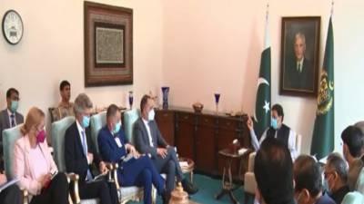 وزیراعظم عمران خان سے جرمن وزیر خارجہ کی ملاقات, افغانستان سمیت پاکستان اور جرمنی کے تعلقات پر تبادلہ خیال