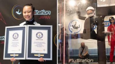 جاپان کی 13 سالہ لڑکی نے دو عالمی ریکارڈ اپنے نام کر لئے