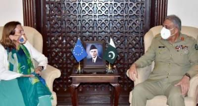 پاکستان یورپی یونین ممالک کیساتھ تعلقات میں اضافے کا خواہاں ہے. آرمی چیف
