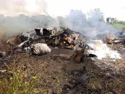 سوڈان، سوڈان میں فوجی طیارہ گر کر تباہ، 3 فوجی اہلکار ہلاک