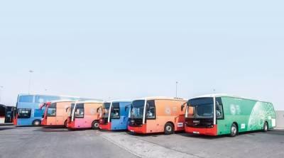 دبئی ایکسپو: سیاحوں کے لئے منفرد بس سروس کا آغاز