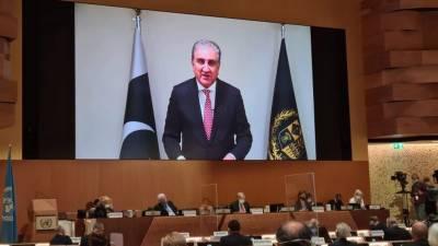 افغانستان کے قریبا 1 کروڑ80 لاکھ عوام کو انسانی بنیادوں پر امداد کی اشد ضرورت ہے.شاہ محمود قریشی