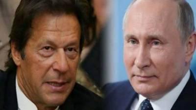 روسی صدر پیوٹن کا عمران خان کو ٹیلیفون، افغان صورتحال، دو طرفہ تعاون پر تبادلہ خیال