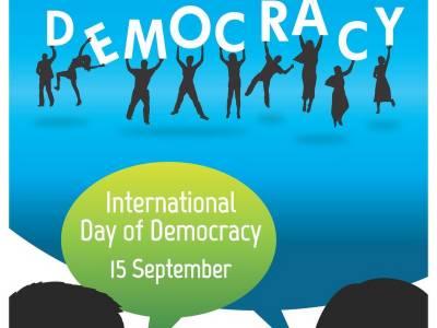 پاکستان سمیت دنیا بھر میں جمہوریت کاعالمی دن آج منایاجارہاہے