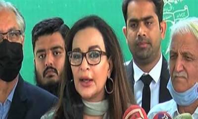 حکومت جمہوری روایات سے تصادم کی راہ پر ہے: شیری رحمان