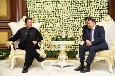 دورہ تاجکستان، وزیراعظم کی تاجک ہم منصب سے ملاقات،دو طرفہ تعلقات اور خطے کی صورتحال پر تبادلہ خیال
