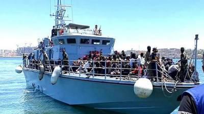 لیبیا کے ساحل سے345غیر قانونی تارکین وطن کوڈوبنے سےبچا لیاگیا. یو این ایچ سی آر