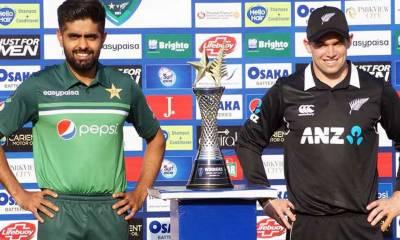 نیوزی لینڈ کرکٹ ٹیم18سال بعد آج پاکستان میں کھیلے گی